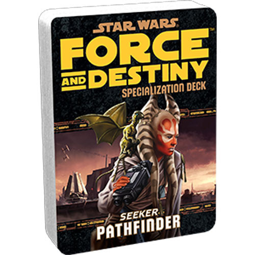 Star Wars: Force and Destiny RPG - Specialization Deck: Pathfinder