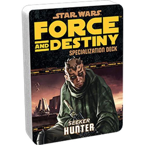 Star Wars: Force and Destiny RPG - Specialization Deck: Hunter