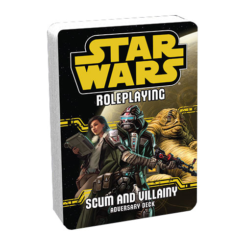 Star Wars RPG: Adversary Deck - Scum and Villainy