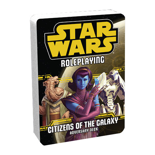 Star Wars RPG: Adversary Deck - Citizens of the Galaxy