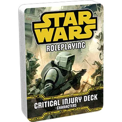 Star Wars RPG: Critical Injury Deck