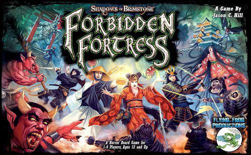 Shadows of Brimstone: Forbidden Fortress Core Set | Board