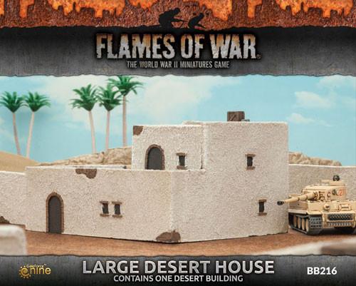 Flames of War: Battlefield in a Box - Large Desert House