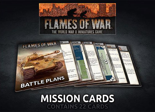 Flames of War: Mission Cards (22)