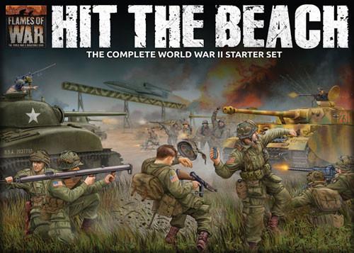Flames of War: WW2 - Hit the Beach Starter Set