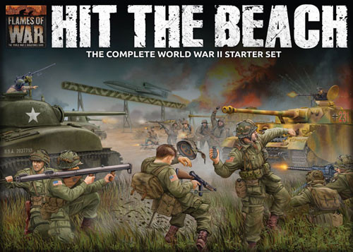 Flames of War: WW2 - Hit the Beach Starter Set | Table Top