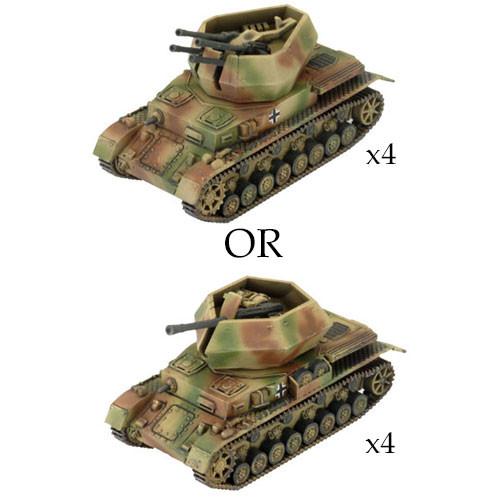 x3 FRTL AA Platoon Battlefront Miniatures