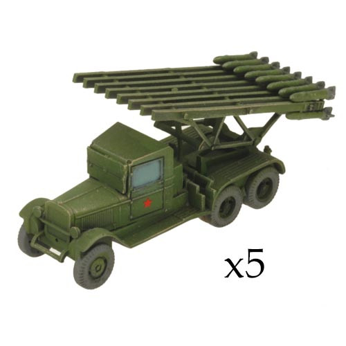 Flames of War SBX74 Soviet Katyusha Guards Rocket Battery Battlefront Miniatures