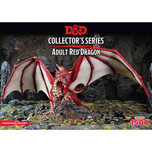 D&D Collector's Series: Adult Red Dragon (1)