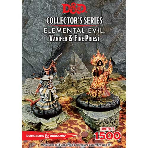 D&D Collector's Series: Elemental Evil - Vanifer & Priest (2)