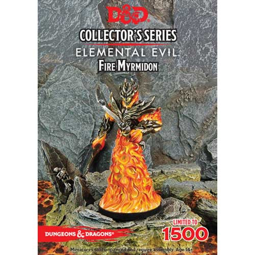 D&D Collector's Series: Elemental Evil - Fire Myrmidon (1)