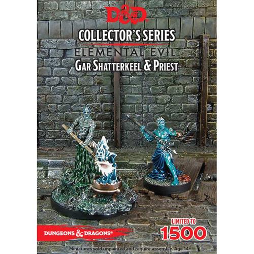 D&D Collector's Series: Elemental Evil - Gar Shatterkeel & Priest (2)