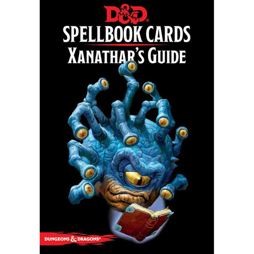 D&D 5th Edition RPG: Spellbook Cards - Xanathar's Guide