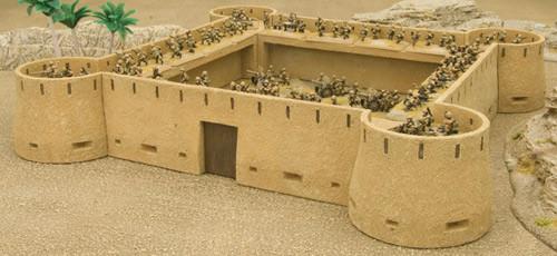 Battlefield in a Box: Desert Fort