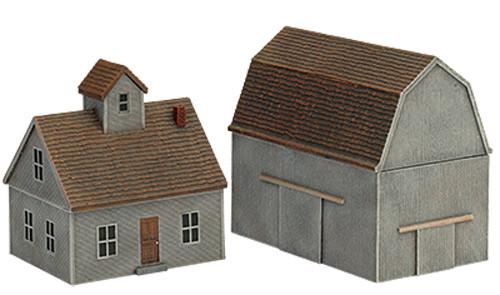 Battlefield in a Box: Farm House & Barn