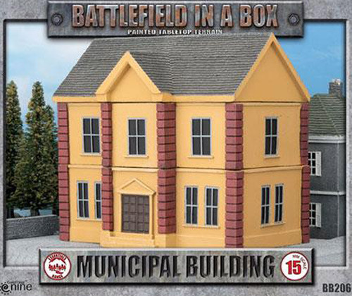 Battlefield in a Box: Municipal Building