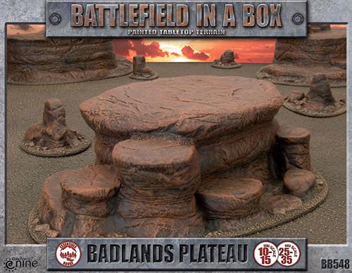 Battlefield in a Box: Badlands Plateau