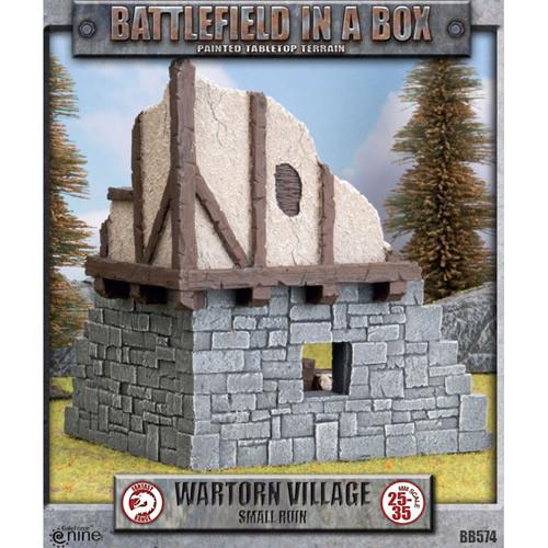Battlefield in a Box: Wartorn Village - Small Ruin