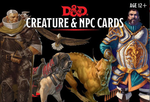 D&D 5E RPG: Creature & NPC Cards