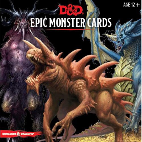 D&D 5E RPG: Epic Monster Cards