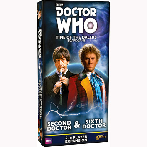 Doctor Who: Time of the Daleks - Second & Sixth Doctors Expansion