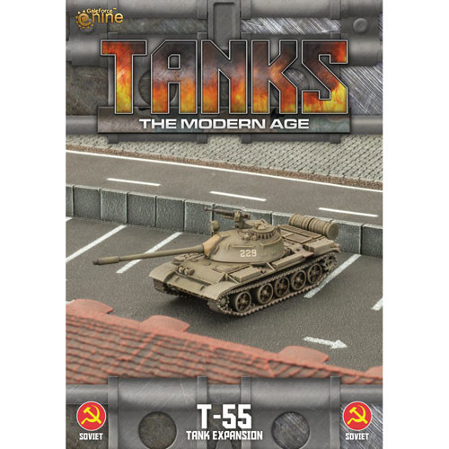 TANKS The Modern Age: Soviet - T-55 | Table Top Miniatures