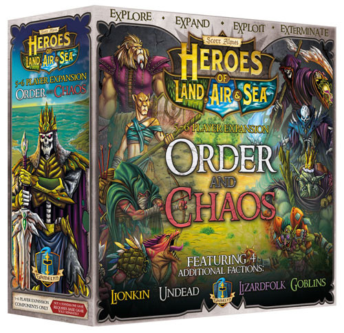 Heroes of Land, Air, & Sea: Order & Chaos Expansion