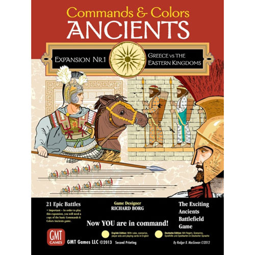 Commands & Colors: Ancients - Greece vs Eastern Kingdoms 3rd Printing