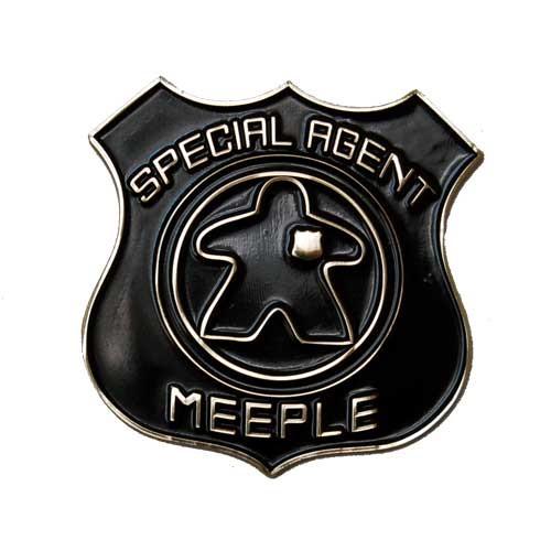 Special Agent Meeple Car Emblem