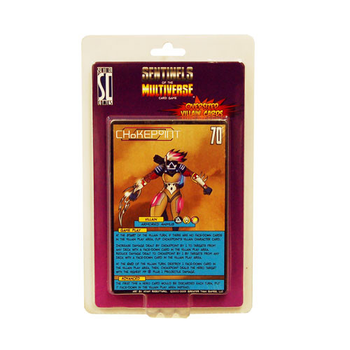 Sentinels of the Multiverse: Oversized Villain Cards