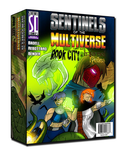 Sentinels of the Multiverse: Rook City and Infernal Relics Expansion