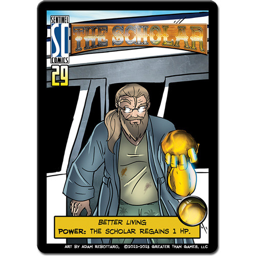 Sentinels of the Multiverse: The Scholar Mini Expansion