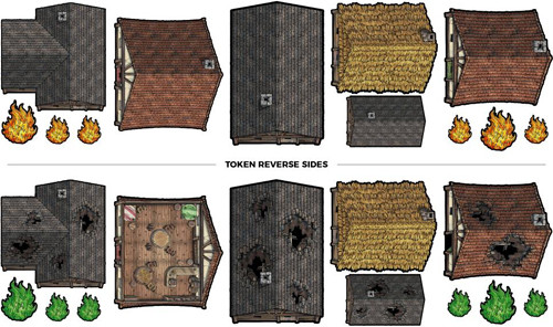 Tabletop Tokens: Rooftops Set