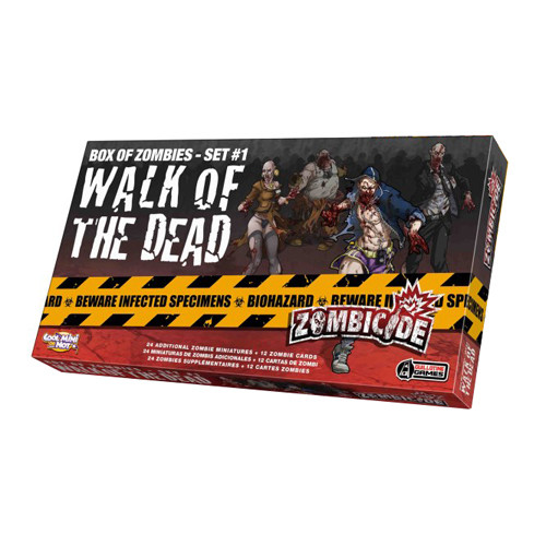 Zombicide: Box of Zombies Set #1 - Walk of the Dead Expansion