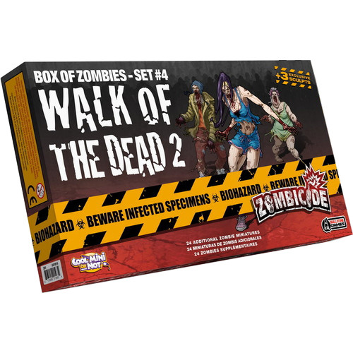 Zombicide: Box of Zombies Set #4 - Walk of the Dead 2 Expansion