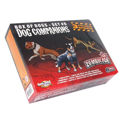 Zombicide: Box of Dogs Set #6 - Dog Companions Expansion