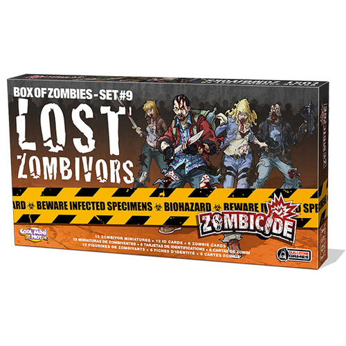 Zombicide: Box of Zombies #7 - Lost Zombivors Expansion