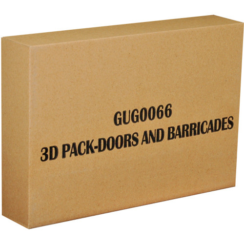 Zombicide: Season 3 - Doors and Barricades 3D Pack