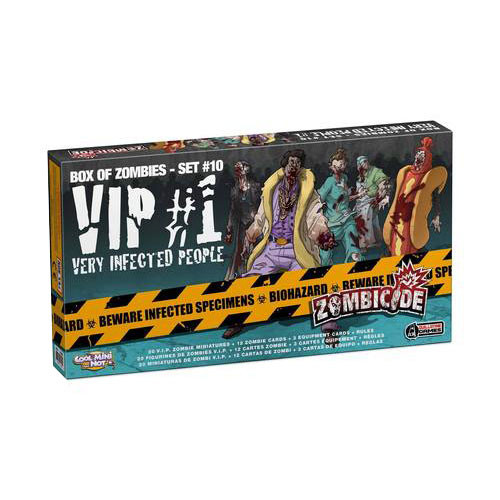 Zombicide: Box of Zombies #9 - VIP #1 Very Infected People Expansion