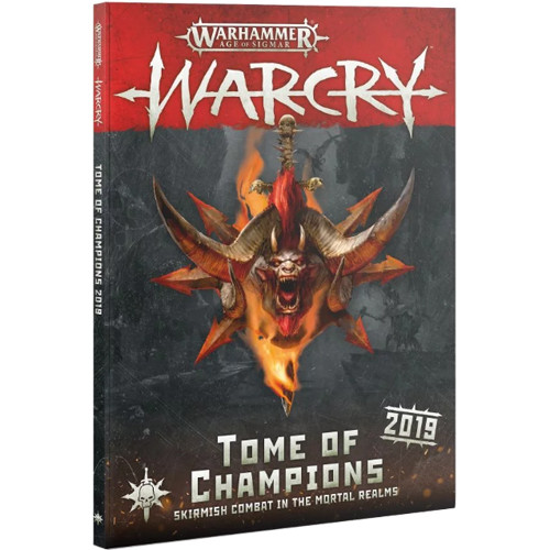 Warhammer Age of Sigmar: Warcry - Tome of Champions 2019 (Softcover)
