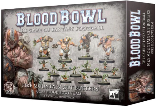Blood Bowl: Ogre Team - Fire Mountain Gut Busters