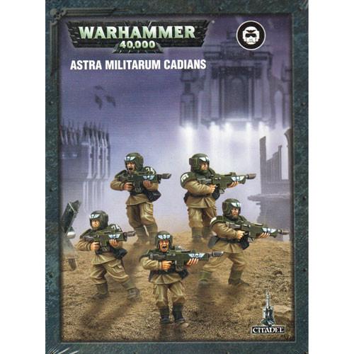 Warhammer 40K: Astra Militarum Cadians (Snap Together)