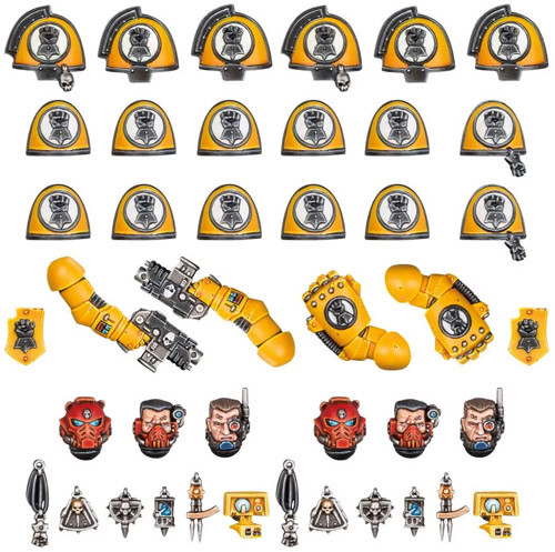 Warhammer 40K: Imperial Fists - Primaris Upgrades & Transfers