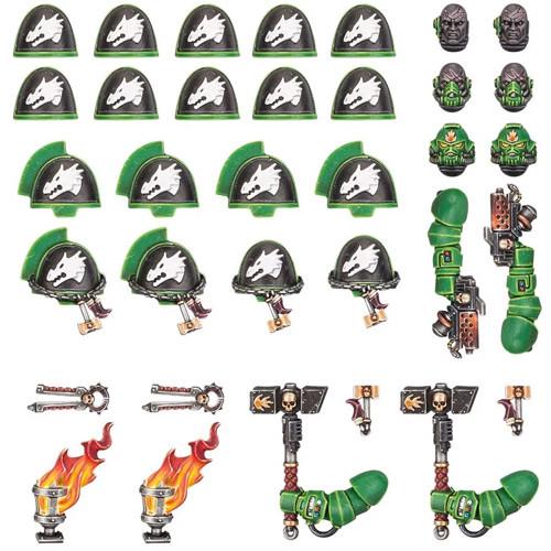 Warhammer 40K: Salamanders - Primaris Upgrades & Transfers
