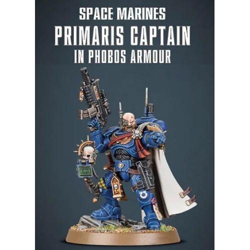 Warhammer 40K: Space Marines - Primaris Captain in Phobos