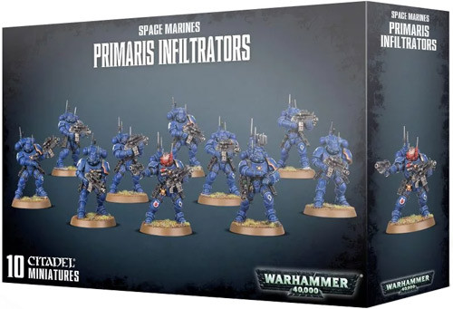 Warhammer 40K: Space Marines - Primaris Infiltrators