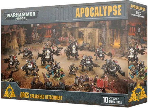 Warhammer 40,000 Orks Start Collecting Set NEW 40k Miniatures IN STOCK