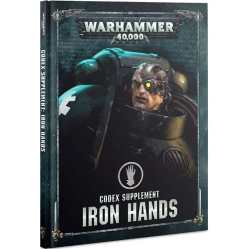 Warhammer 40K: Codex Supplement - Iron Hands (Hardcover) (Last Chance)