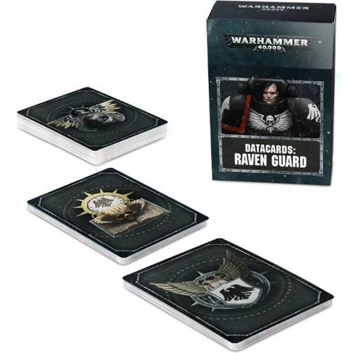 Warhammer 40K: Datacards - Raven Guard