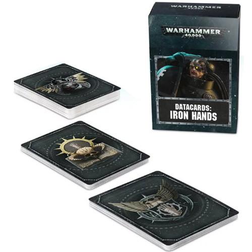 Warhammer 40K: Datacards - Iron Hands